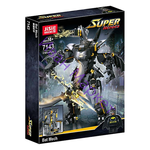 Супер Герои 7143 Бэтмен Бэт Мех 1181 дет. Конструктор