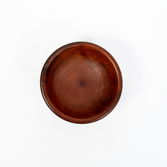 Винный столик из Сибирского Кедра со съемной чашкой, фото 7