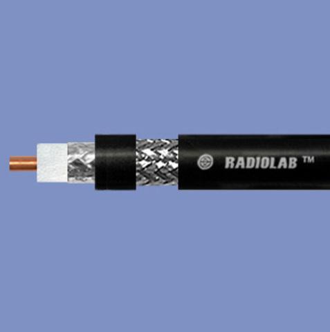 Коаксиальный кабель Radiolab 8D-FB PE (black)