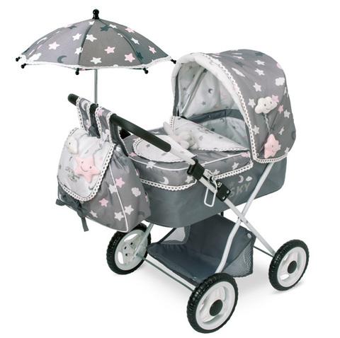DeCuevas Коляска с рюкзаком и зонтиком серии