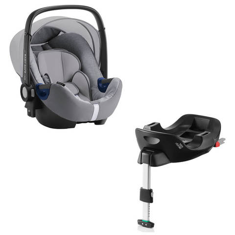 Автокресло Britax Roemer Baby-Safe2 i-Size Grey Marble + Base Flex Isofix