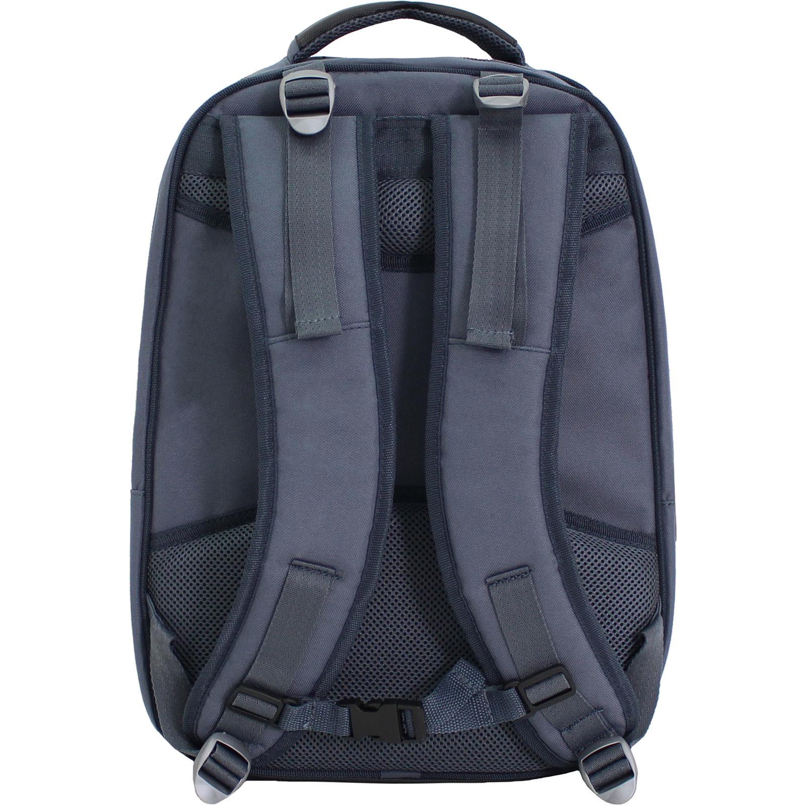 Рюкзак для ноутбука Bagland Рюкзак под ноутбук 536 22 л. Темно серый (0053666) фото 3