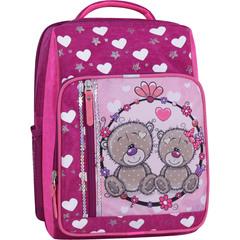Рюкзак школьный Bagland Школьник 8 л. 143 малиновый 686 (0012870)
