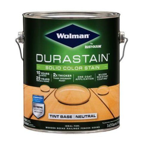 Wolman DuraStain Solid Color Stain кроющая суперстойкая водоотталкивающая пропитка