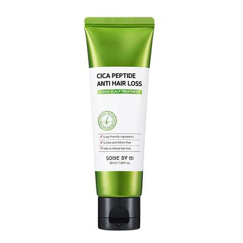 Some By Mi Укрепляющая маска для волос с центеллой и пептидами Some By Mi Cica Peptide Anti Hair Loss Treatment 50мл