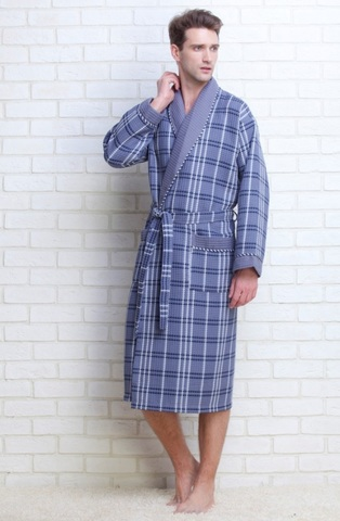 Вафельный халат Gentelmen Style (E 10020)