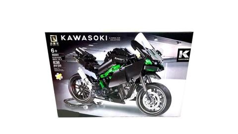 Конструктор мотоцикл Kawasoki Ninja H2R Qi Zhile 85001, 838 дет.