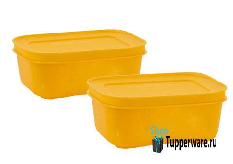 Охлаждающий лоток (450 мл), 2шт, в желтом цвете