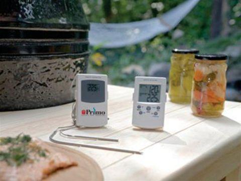 Цифровой дистанционный термометр для измерения температуры внутри мяса