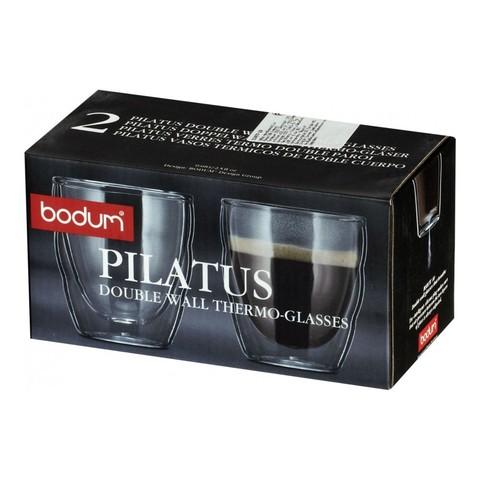 Набор бокалов Bodum Pilatus (2 шт. по 0,08 литра)