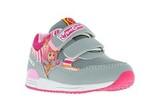 Кроссовки для девочек на липучках Фиксики, цвет серый. Изображение 5 из 5.