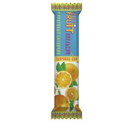 Flax Fruit конфеты фруктовые с апельсином 30г