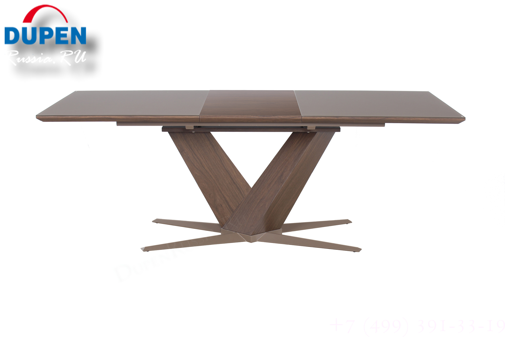 Стол обеденный AVANTI POINT (160) WALNUT (орех)