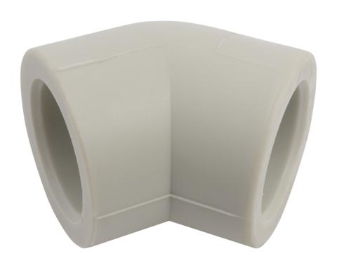 FV Plast 25 мм 45° угол равнопроходной полипропиленовый