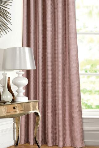 Готовая штора Аллегра жаккард темно-розовый