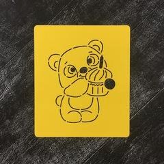 Мишка Тедди №17 с тортиком
