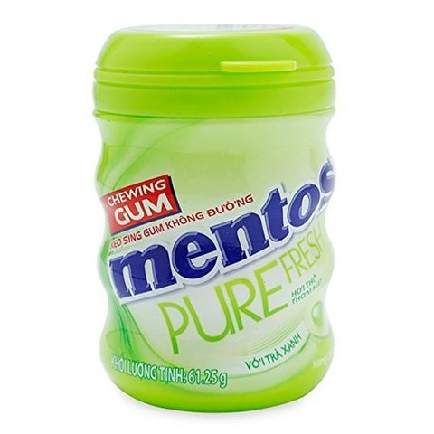 Жевательная резинка Mentos Pure fresh со вкусом лайма 61 гр