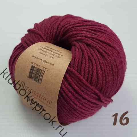 FIBRA NATURA DONA 106-16, Темный фиолетовый