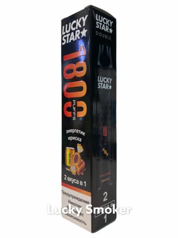 LUCKY STAR Double (1800 затяжек) Энергетик / Ириска