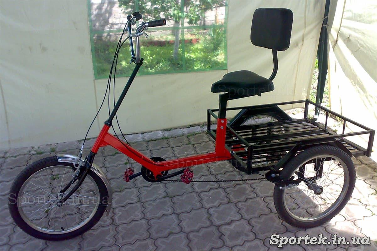 Вантажний триколісний велосипед 'Атлет великий'