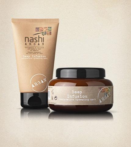 Маска для волос глубокого воздействия Nashi Argan  500мл