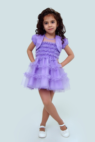 Платье детское + болеро (артикул 1Н56-5)