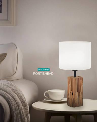 Настольная лампа Eglo PORTISHEAD 43212 3