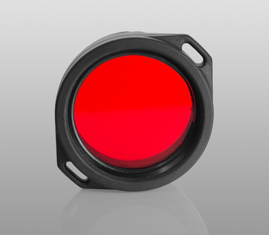 Красный фильтр Armytek для фонарей Predator/Viking - фото 1