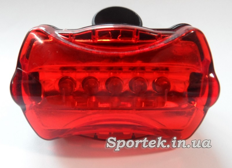 Червоний задній ліхтар для велосипеда