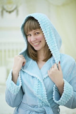 VIVIENNE ВИВЬЕН женский махровый халат Maison Dor Турция