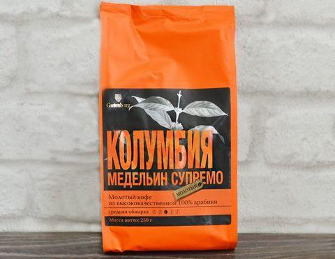 Кофе классический Колумбия медельин супремо ЧАЙ ИП Кавацкая М.А. 0,1кг