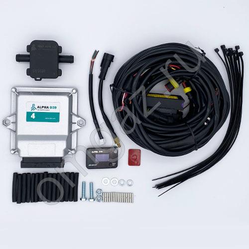 Электр. часть Alpha D39 Pro 4 цилиндра