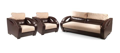 Диван + 2  кресла (комплект № 1)