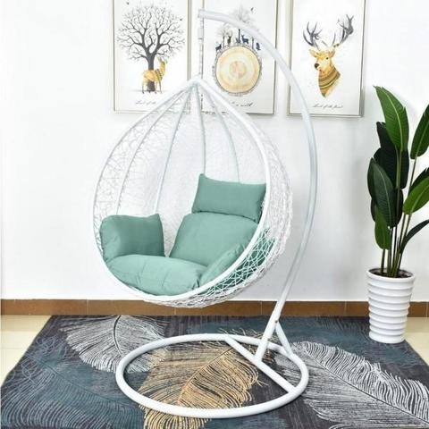 Подвесное кресло AFM-168A-L White/Green