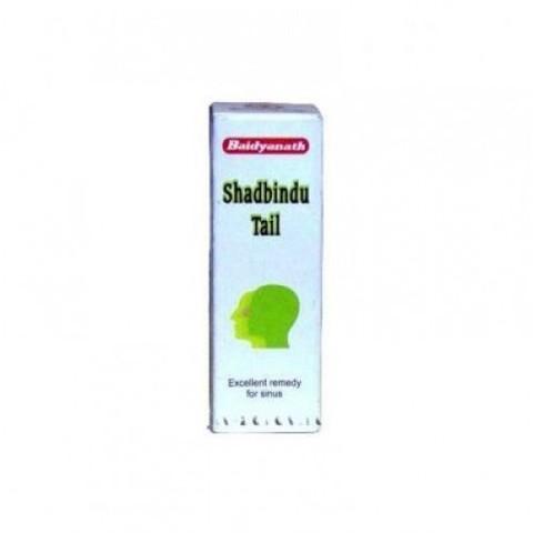 Масло от насморка и гайморита Шадбинду (Shadbindu Taila) Baidyanath, 25 мл