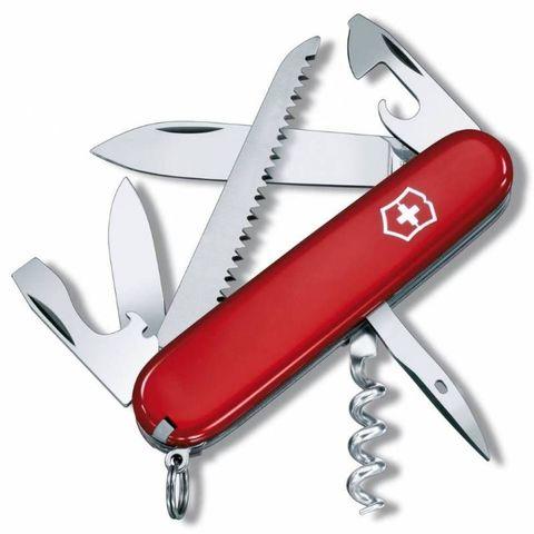 Нож перочинный Victorinox Camper (1.3613) 91мм 13функций красный