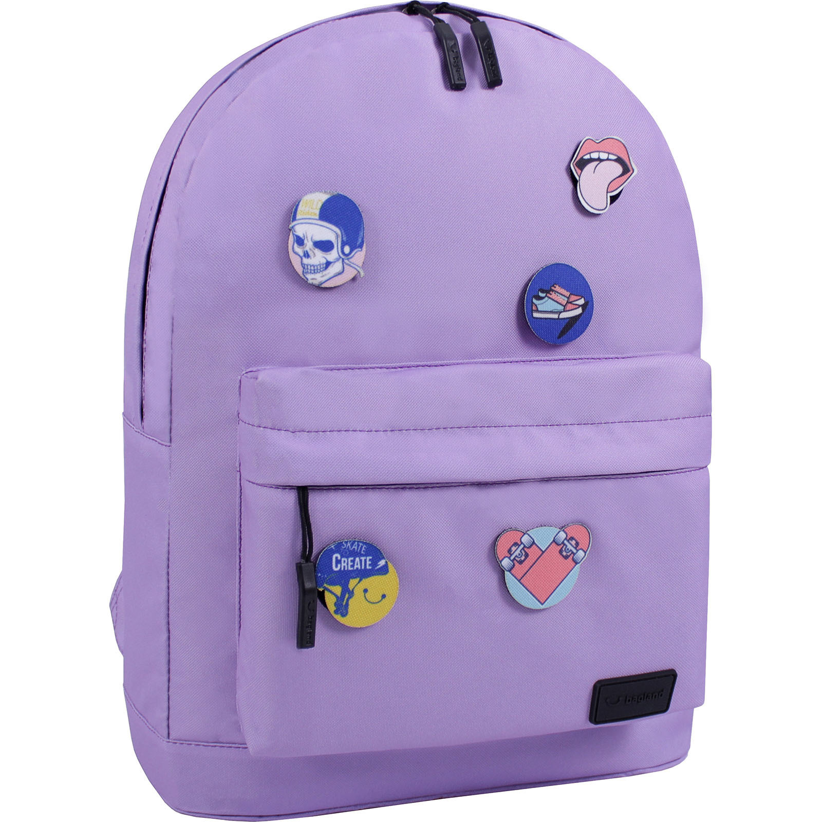 Молодежные рюкзаки Рюкзак Bagland Молодежный W/R 17 л. Сиреневый (00533664 Ш) IMG_1343.JPG