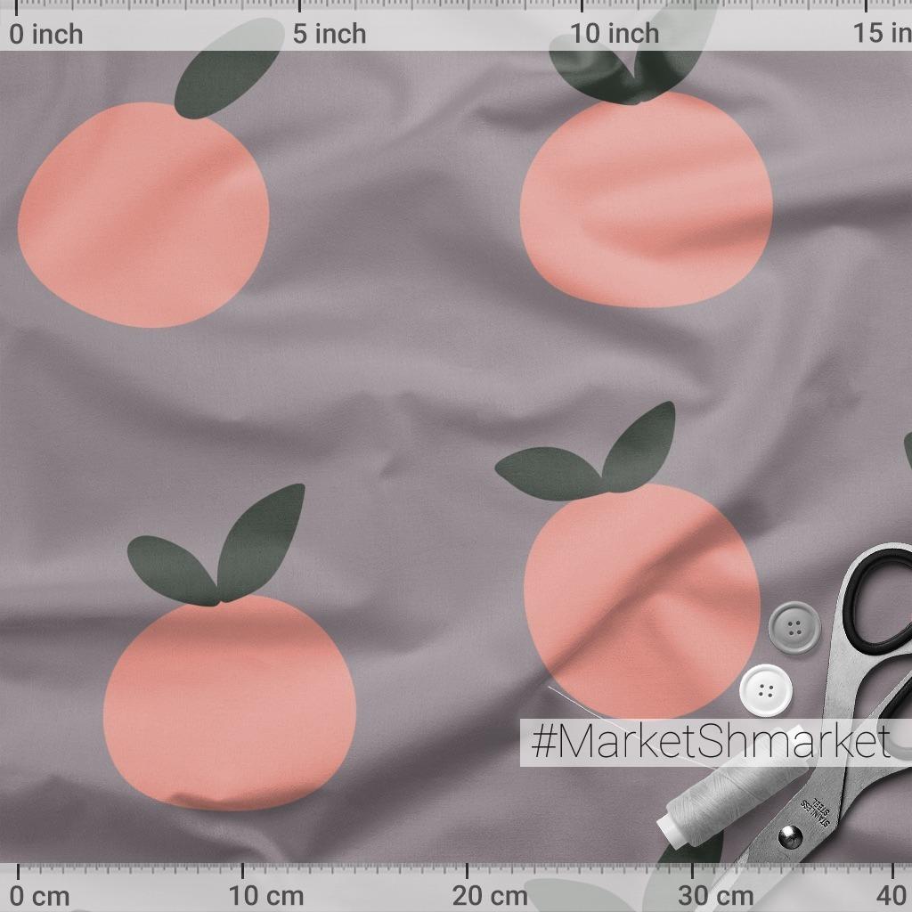 Минималистичный паттерн с яблоками
