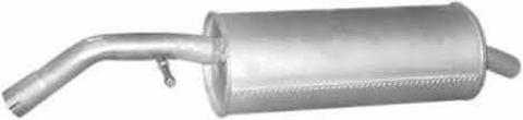 глушитель Citroen C3 I/Pluriel 1.6i -16V 02-; Peugeot 1007 1.6i -16V 04