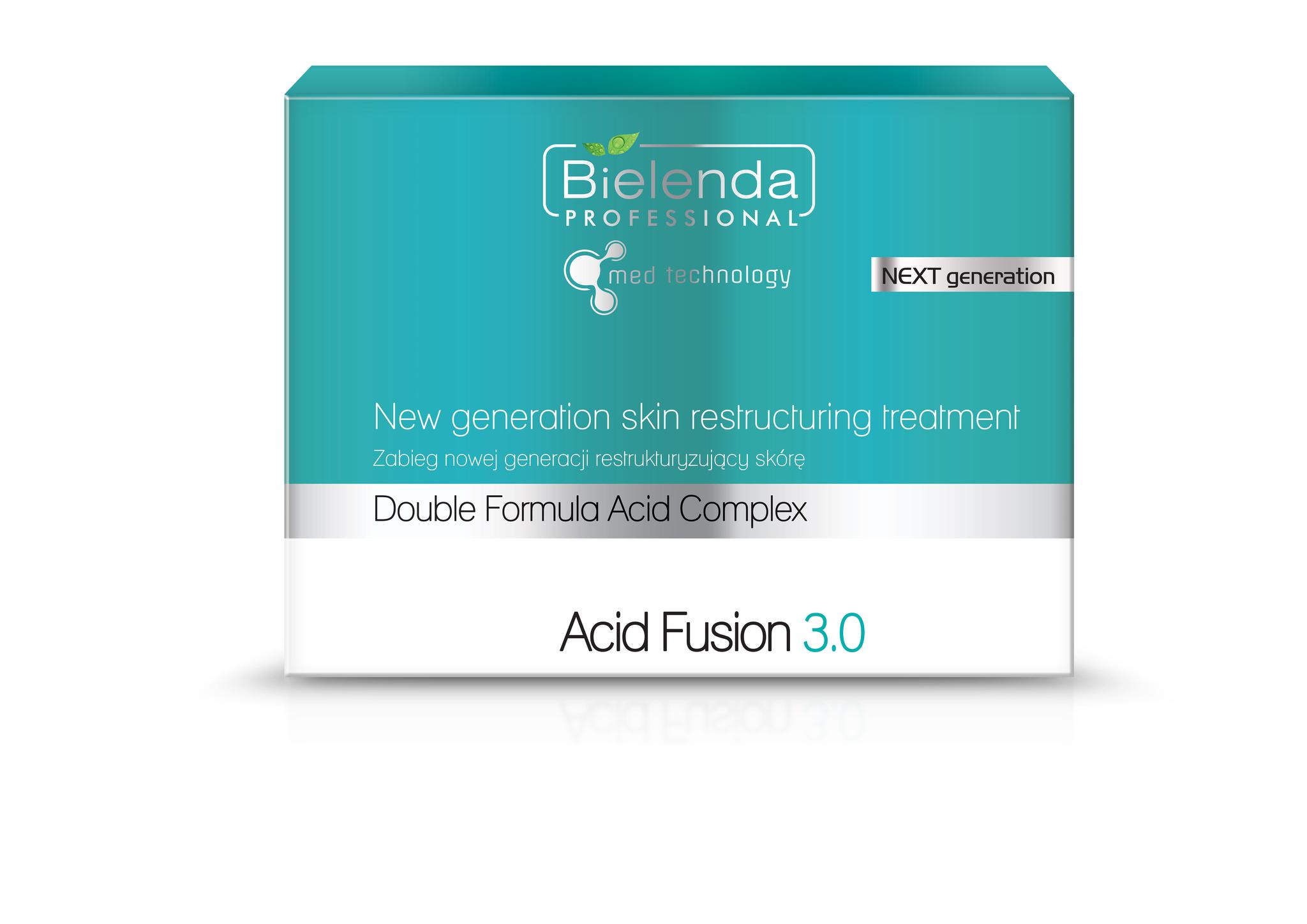 Acid Fusion 3.0 Пилинг нового поколения - обновление кожи, всесезонный, набор для 5 процедур