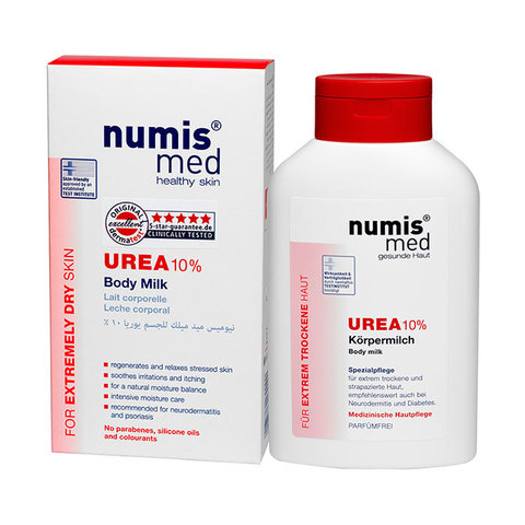 НУМИС МЕД Молочко для тела с 10 % мочевиной, 300 мл