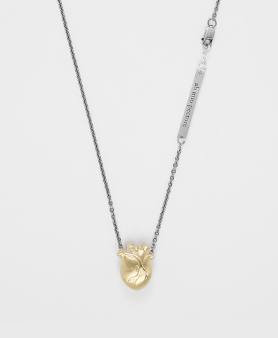 Подвеска ANATOMIC HEART MEDIUM GOLD