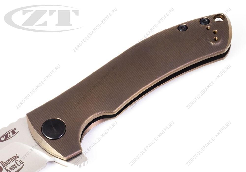 Нож Zero Tolerance 0920 2BKC Les George - фотография