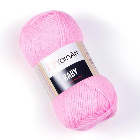 Пряжа Baby (Бэби) Ярко-розовый. Артикул: 217