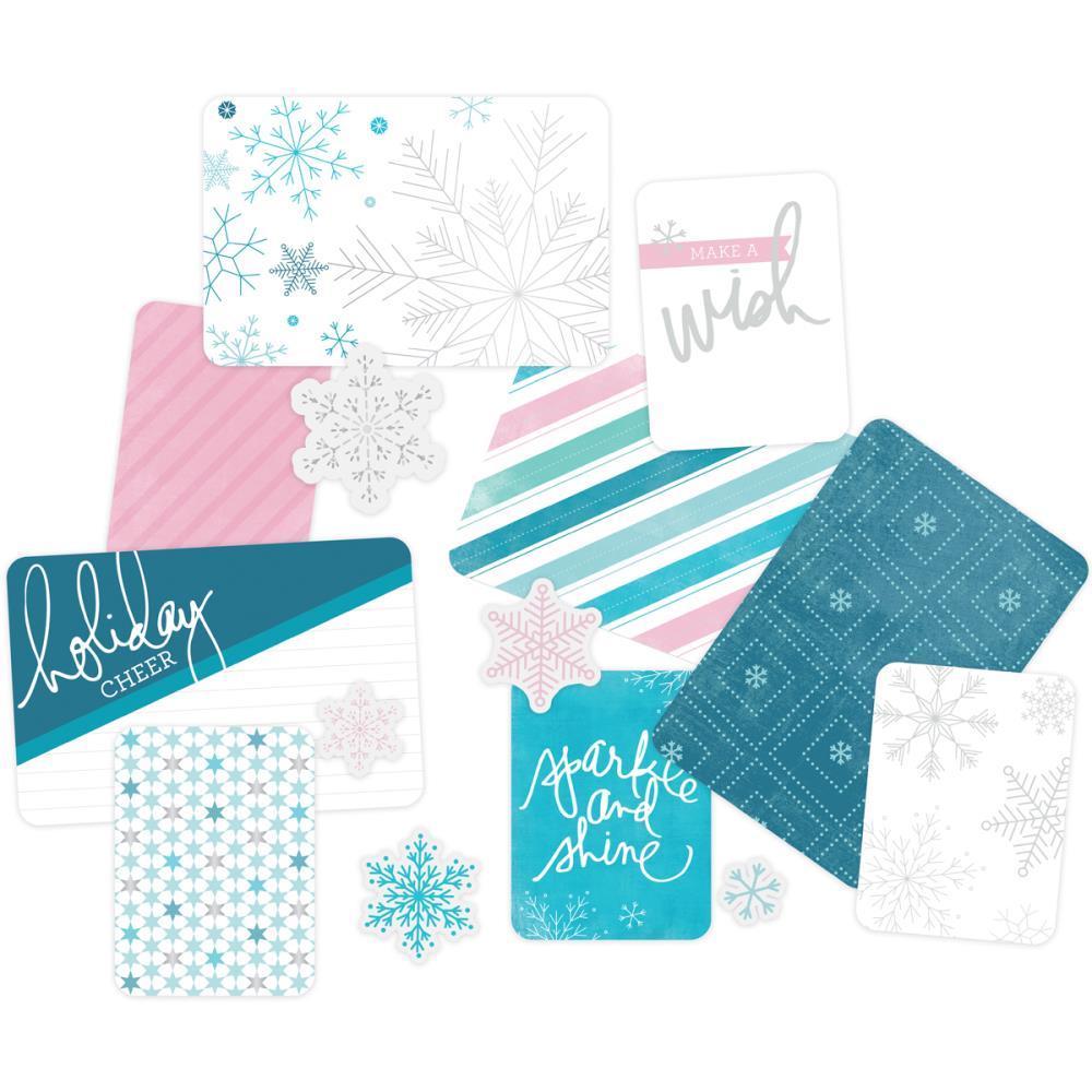 Kit набор карточек и украшений для Project Life 100шт