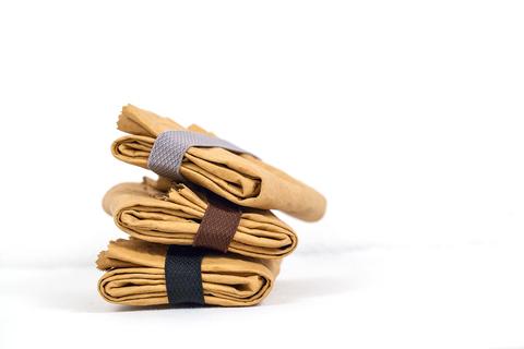 Пакеты для ланча миндального цвета, 3 размера