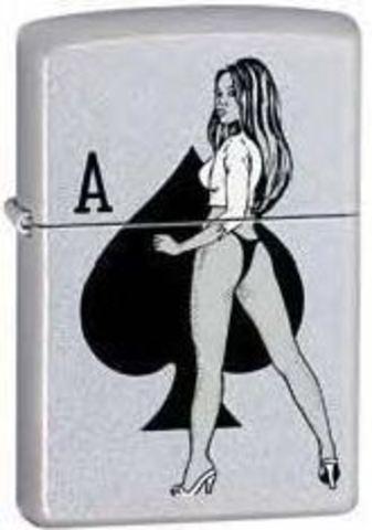 Зажигалка Zippo Girl/Spade
