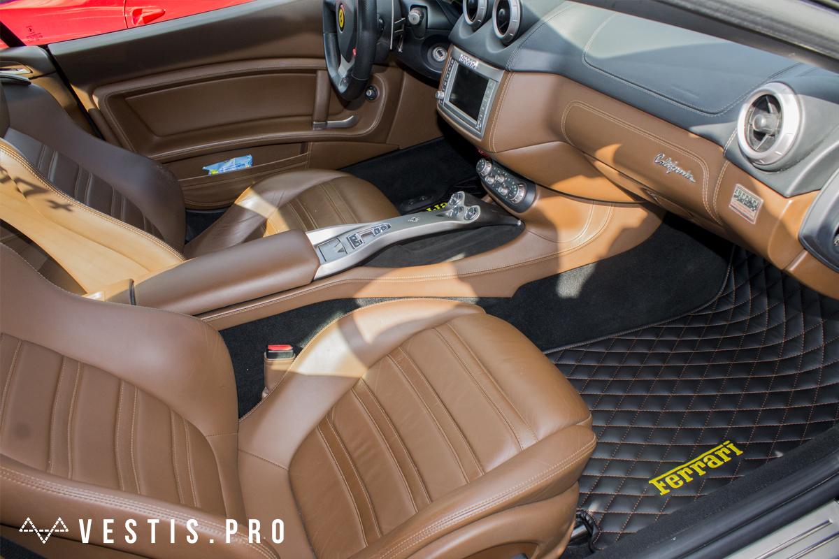 Коврики из эко-кожи Vestis для Ferrari