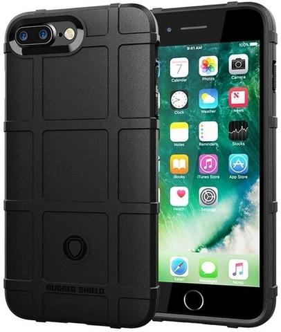 Чехол для iPhone 7 Plus (8 Plus) цвет Black (черный), серия Armor от Caseport