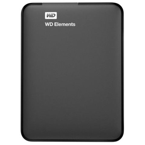 Внешний жесткий диск Western Digital Elements Portable 2 Tb (WDBMTM0020BBK-EEUE)
